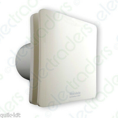 Vent Axia 443176 Low Carbon Centra Axial Extractor Fan Low Voltage 100 mm / 4 In