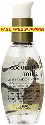 OGX Organix Nourishing COCONUT MILK Anti-Breakage SERUM 4 oz