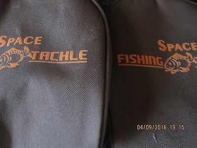 Space Fishing Tackle Reel Cases Vgc Carp Reel Cases X2