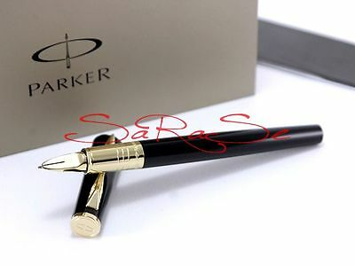 PARKER 5th INGENUITY SMART GLIDE KUGELSCHREIBER BALLPOINT PEN FINELINER GOLDEN
