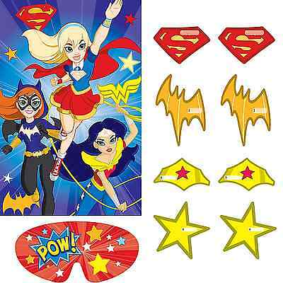 DC Super Hero Girls Party Game ~ Birthday Decorations Party Favor Supplies