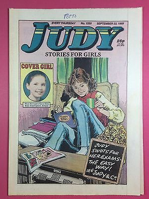JUDY - Stories For Girls - No.1550 - September 23, 1989 - Comic Style Magazine