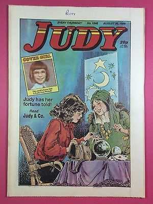 JUDY - Stories For Girls - No.1546 - August 26, 1989 - Comic Style Magazine