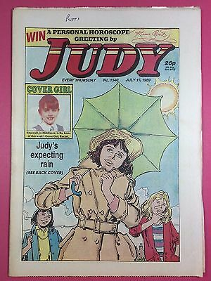 JUDY - Stories For Girls - No.1540 - July 15, 1989 - Comic Style Magazine