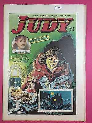 JUDY - Stories For Girls - No.1539 - July 8, 1989 - Comic Style Magazine
