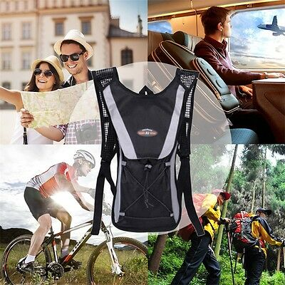2L Bicycle Cycling Sport Outdoor Bag Hiking Hydration Backpack Bike Water Bag AU