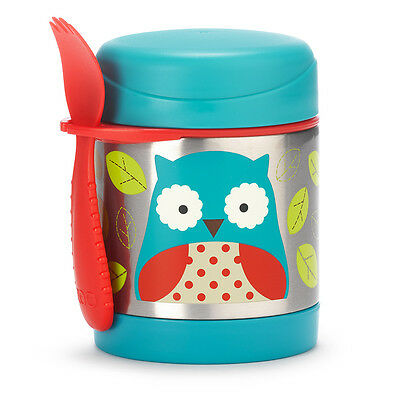 Skip Hop Insulated Food Jar - Owl - NEW