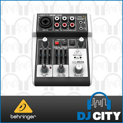 Behringer XENYX 302USB 5 Input PA Mixer & USB Audio Interface