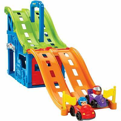 Fisher-Price Little People Wheelies Race and Chase Carrier - NEW