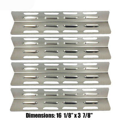 Lowe's Perfect Flame Gas Grill Part Stainless Steel Heat Plate PPB071-4pack