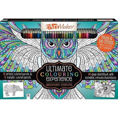Art Maker Ultimate Colouring Experience + includes pencils