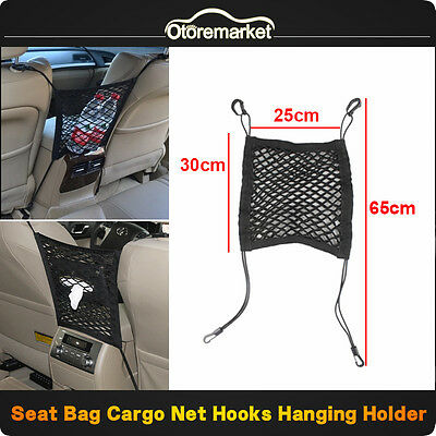 Faithful Black Multipurpose Double Car Van Seat Back Hanger Organizer Hook Headrest Holder Home Improvement Robe Hooks