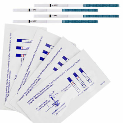 20pcs Early Home Urine Pregnancy Strips Accurate Midstream Test Papter Kit