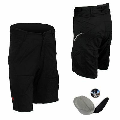 SPORTFUL Cycling Baggy Mountain Bike Bicycle Padded Shorts