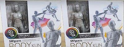 SET of 2 Mr Body-Kun DX S.H.Figuarts Gray Man,Gentleman Dessin Drawing Figure