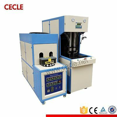 PET High Productive Small Semi-auto Blow Molding Machine  by sea
