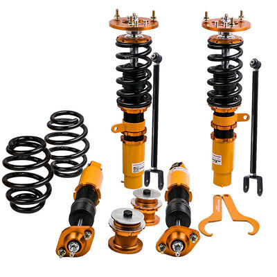 for BMW E46  M3 Adjustable height and damper Coilover Suspension control arm kit