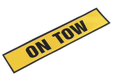 """Sealey TB01T Magnetic Sign """"ON TOW"""""""