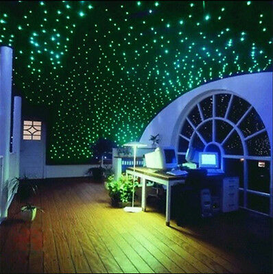 2000pcs Glow In The Dark 3D Stars Moon Stickers Bedroom Home Wall Room Decor DIY