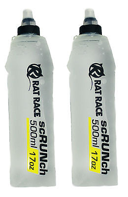 Rat Race - scRUNch Flask 500ml Twin Pack - Soft Running Flask