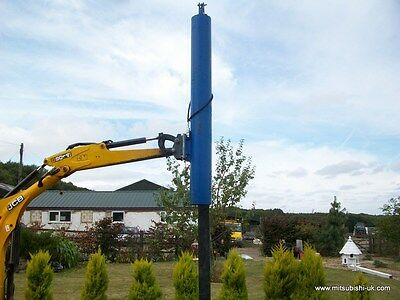 Post Rammer Hydraulic For Use With 1.5 - 3.0 Ton Mini Digger