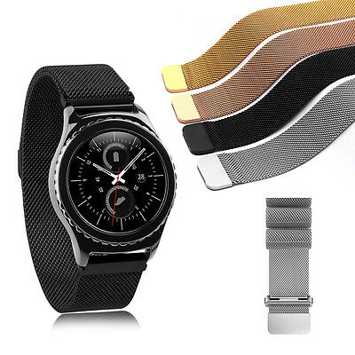 Magnetic Stainless Steel Watch Band Milanese Strap F Huawei /Samsung Gear S2 S3