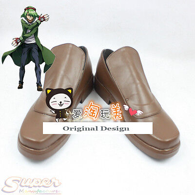 Hot Sale Akame ga Kill! Lubbock Boot Party Shoes Cosplay Boots Custom-made