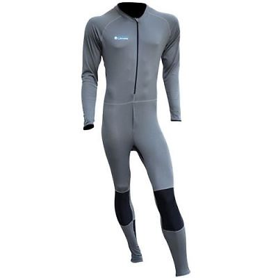 Oxford Layers Cool Dry Motorcycle One Piece Suit Motorbike Base Layers Grey New