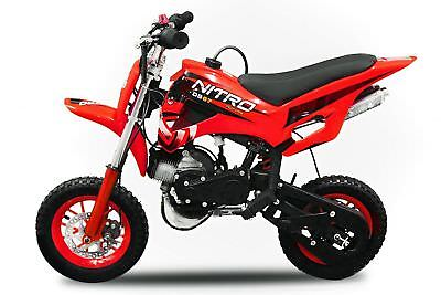 Nitro Motors Dirtbike DS67 49cc Dirt Bike Pocket