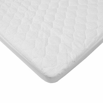 American Baby Company Waterproof Quilted Cotton Bassinet Size Fitted Mattress Pa