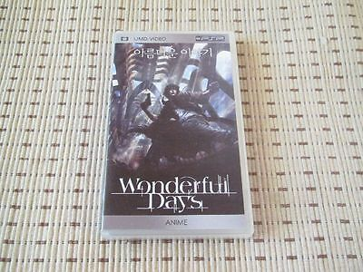 Wonderful Days Film UMD für Sony PSP *OVP*