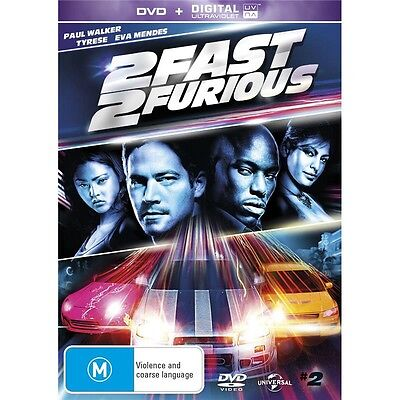 2 FAST AND FURIOUS Vin Diesel Paul Walker Region 4 New