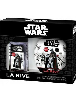 (6,95€/100ml) LA RIVE STAR WARS FIRST ORDER DEO 80ML+DUSCHGEL 250 ml KINDER