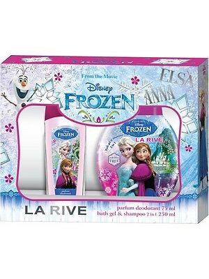 (4,92€/100ml) LA RIVE DISNEY FROZEN SET: DEO 75 ML+DUSCHGEL 250ml KINDER