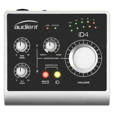 Audient iD4 USB Audio Recording Interface