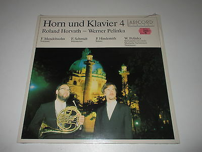 LP/HORN UND KLAVIER 4/HORVATH/PELINKA/Aricord A-18712 / SEALED NEU NEW