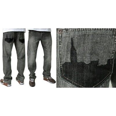 Zoo York Men's Rooftops Straight Jean - Various Colours