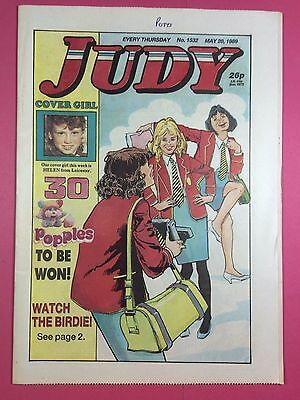 JUDY - Stories For Girls - No.1532 - May 20, 1989 - Comic Style Magazine
