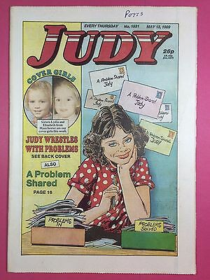 JUDY - Stories For Girls - No.1531 - May 13, 1989 - Comic Style Magazine