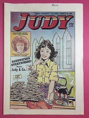 JUDY - Stories For Girls - No.1523 - March 18, 1989 - Comic Style Magazine