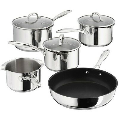 Stellar 7000 PP374 5 Piece Induction Saucepan Set