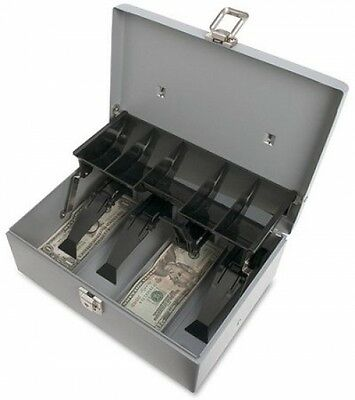 Sparco 5-Compartment Tray Cash Box NEW NO TAX