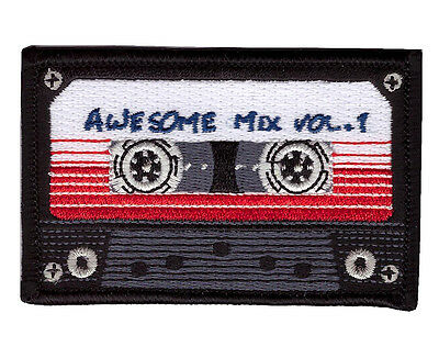 Hook Fastener Awesome Mix Tape Morale Tactical Patch Parche Bordado