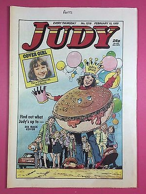 JUDY - Stories For Girls - No.1519 - February 18, 1989 - Comic Style Magazine