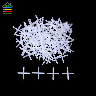 1000pcs/Lot Tile Spacers Wall Floor Cross Type Spacer Adjust Interval 1.0mm Gap