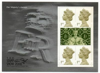 Gb Mnh Stamp Miniature Sheet Her Majesty's Stamps Ms2147 Umm 2000