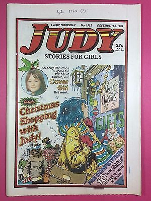 JUDY - Stories For Girls - No.1562 - December 16, 1989 - Comic Style Magazine