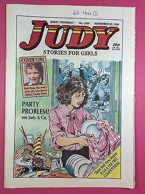 JUDY - Stories For Girls - No.1559 - November 25, 1989 - Comic Style Magazine