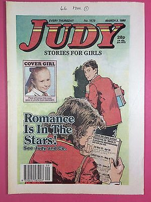 JUDY - Stories For Girls - No.1573 - March 3, 1990 - Comic Style Magazine