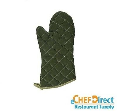 """1 PC  15"""" Flame Resistant Sage Green Oven Mitt - FREE SHIPPING!!!"""